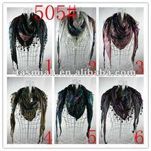 Muslim Silk long Scarf ,Tudung scarf Knitted