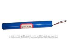 cylindrical 18650 1S2P 3.7V 4400mAh Li-ion battery