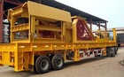 Complete crushing and screening plant with classis or fixed one used in mining and quarry