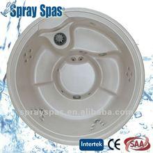 round massage spa E-310S acrylic shell balboa control dynamic family together portable mini hot tub