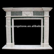 Modern Marble Fireplace Mantel Design