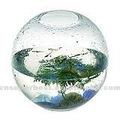 Hot rodada claro acrílico aquário/ tanque de peixes