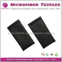Clip PU sunglass leather pouch,soft sunglass pouch, leather eyeglass pouch