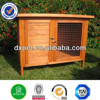 wooden rabbit hutch kennel/ rabbit house/ rabbit cage