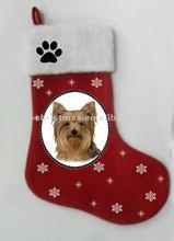 Perfect flet dog christmas stocking series /animal Xmas socks