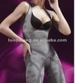 Luodakang toumaline infravermelho distante sem costura fibra de bambu do corpo escultura roupas/ shaper do corpo