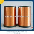 ronda de cobre esmaltado de aluminio revestido de la bobina de alambre