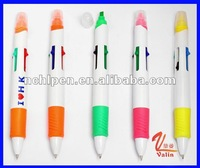 multi color hightlighter pen for hot promotion
