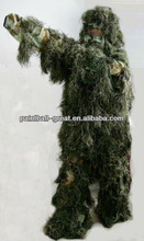 Ghillie Poncho Kit Paintball sets Hunt Suit Woodland