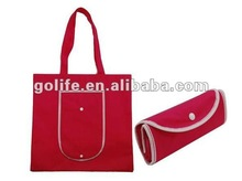 2014 high quality folding non-woven fabric bags