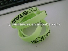 2012 New style silicone wristband with printing logo