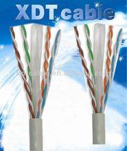 Passed Fluke Testing 0.56mm OEM, ODM UTP Cat 6 network cable trunking from factory