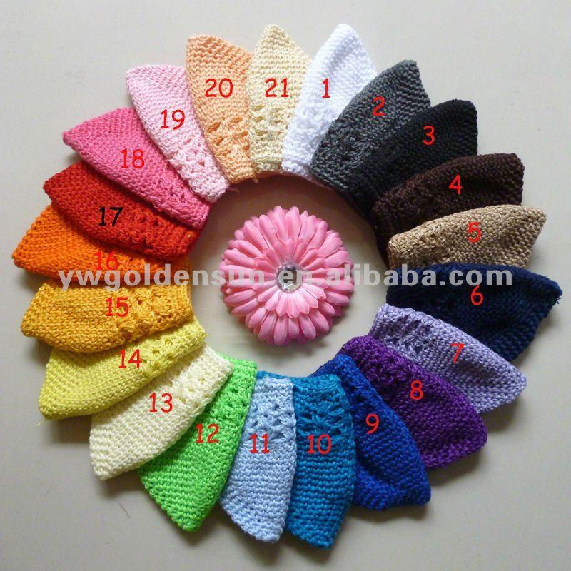 Wholesale 21 colors Crochet Kufi Hat In Stock No MOQ