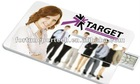 logo printing card usb 4gb/card usb logo printed