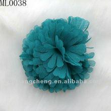 Frayed petite chiffon shabby flowers lace trims