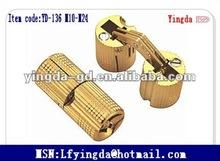 YD-(C)136 M10-M24 Hot sale Brass hinge 180 degree hinge cabinet concealed hinge