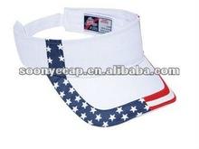 United State Flag Cotton Twill Sun Visor