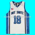 diseño personalizado del equipo de baloncesto jersey
