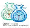 plastic craft clock,sack clock,desk clock