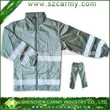 reflective rain suits,adult rain coat ,reflective long-sleeved jacket