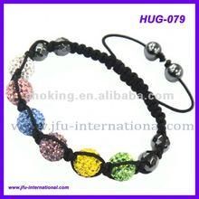 2012 Summer Shamballa Balls,Pink Shamballa Bracelet,Shamballa Crystal Beads