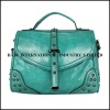 2013 shoudler gun metal short handle metal rivets mexican leather handbags mexican style bags handbags mexican