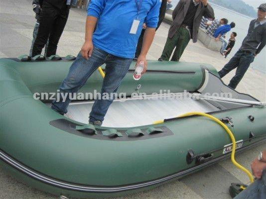 4.3 m 0.9 pvc 3 capa opcional de color baja miltary de goma barco bote inflable