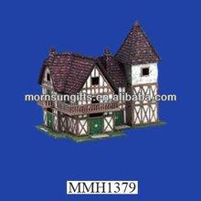 beautiful polyresin model miniature house
