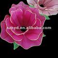Flores hechas a mano, la decoración del jardín, decoración de la boda