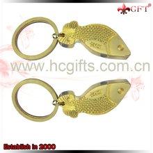 2012 gold fish keychain GFT-L122