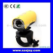 "2012 New!! ""First Bullet"" 720P Waterproof 20M Portable HD Mini Sport Camera EJ-DVR-41E"