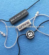 plastic string tag