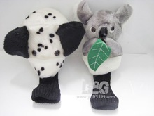 Animal Wood Golf Club Head Cover For Sale