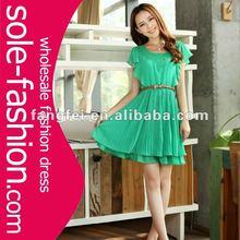 2012 women sleeveless fashion korean dresses