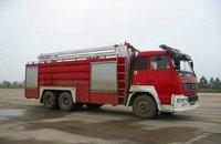 12CBM water and foam tank fire truck