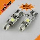 T10 194 W5W 4SMD 5050 The automotive LED indication light bulb canbus LED