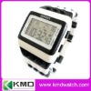 2012 Trendy black 'n white stripes unusual zebra digital watch
