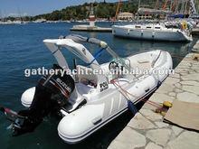 2013 zodiac PVC inflatable boats rib580C(CE)