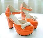 Lady dress shoes High thick heels& Platforms XT-SF87