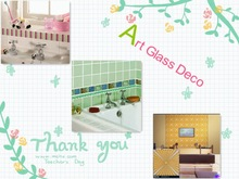 2012 The Newest Kitchen Wall Glass Design