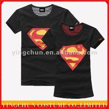 2012 hot sale korean couple t shirts,100% cotton