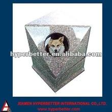 Granite pet grave memorial photo etched stone