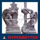 Stone Granite cemetery statues