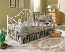exquisito y dormitorio muebles antiguos de metal blanco de diván