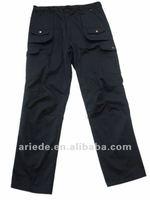 men's navy blue winter work cargo pants