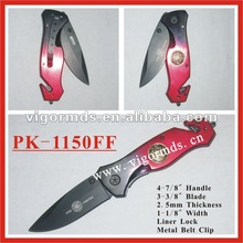 "(PK-1150FF) 8"" Extreme FireFighter Tactical Folding Pocket Knife"