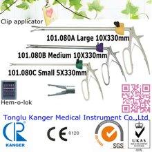 Surgical instruments laparoscopy medical plastic clip applicators