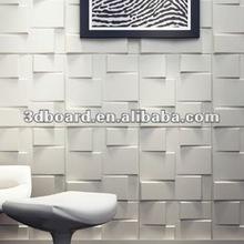 PVC wallpaper 3dimensional board wall panel indoor decoration for villa
