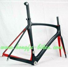 Shimano DI2 compatible road bike frame carbon&Toray 700c full carbon fiber road bicycle frame&carbon aero road frame,FM139