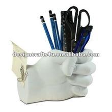 Fancy Resin Fist Pen Holder